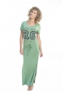 Royal Dutch maxi dress groen