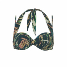 Ten Cate WOW bikinitop multiway palmleaves