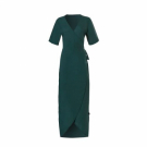 Ten Cate WOW wrap dress groen